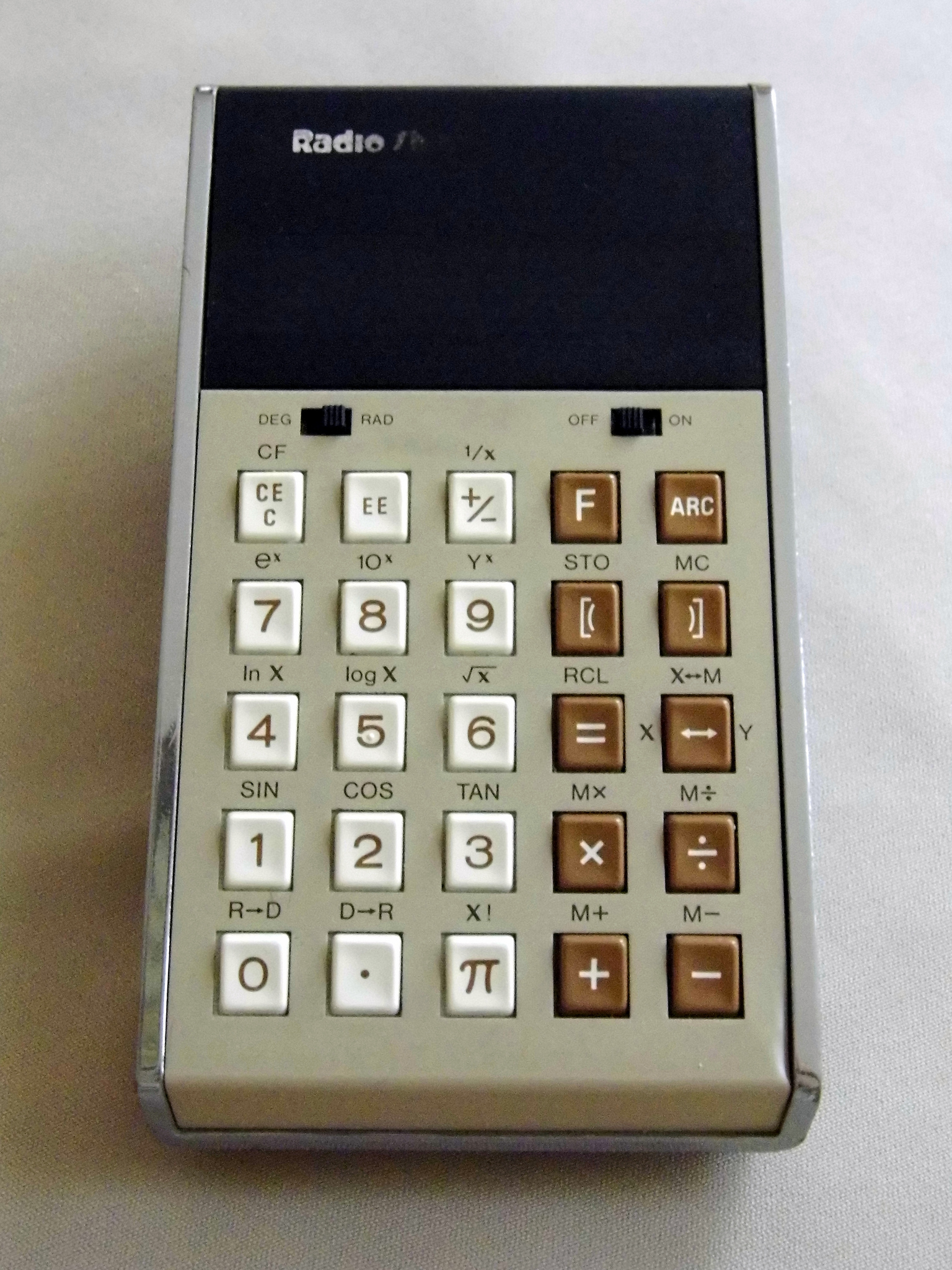 A Brief History of Calculators in the Classroom